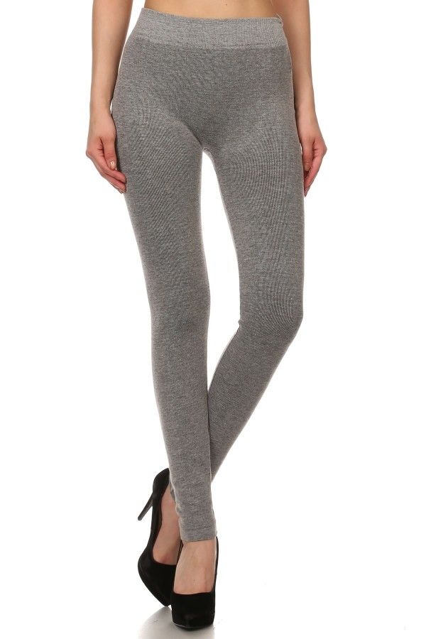 French terry leggings GREY