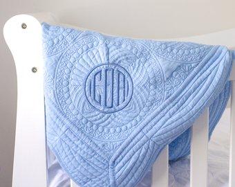 Baby Girl Blanket Personalized Baby Blanket Embroidered Baby Blanket Baby Blanket Personalized Custom Baby Blanket Minky Baby Blanket