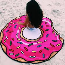 Sand Circle Round Beach Towel Monogrammed Round Beach